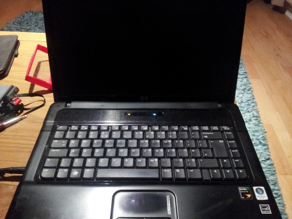 Что делать если тёмный экран у ноутбука